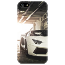 "Чехол для iPhone 5 ""Lamborghini Aventador"" - автомобили, lamborghini, lamborghini aventador"