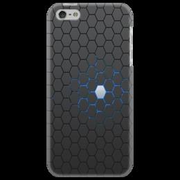 "Чехол для iPhone 5 ""Нано текстуры(nano texture)"" - nano texture, crysis"