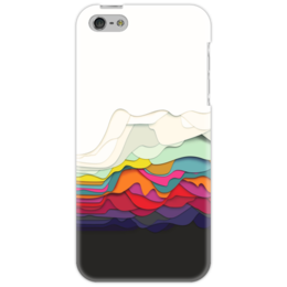 "Чехол для iPhone 5 ""Абстракция"" - абстракция, минимализм"