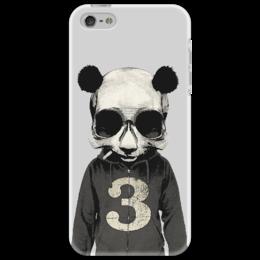 """Чехол для iPhone 5 """"Panda № 3                                     """" - популярные, панда, оригинально, чехол для iphone 5"""