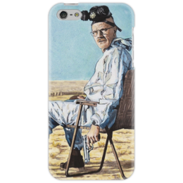 """Чехол для iPhone 5 """"Уолтер Вайт  [Br][Ba]"""" - сериал, выделись из толпы, во все тяжкие, breaking bad, walter white"""