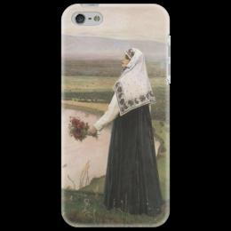 """Чехол для iPhone 5 """"На горах"""" - картина, нестеров"""