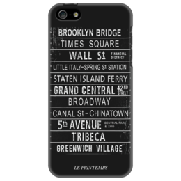 "Чехол для iPhone 5 ""New York City"" - newyork, nyc, ньюйорк"