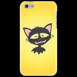 """Чехол для iPhone 5 """"«капризный кот»"""" - кот, приколы, животные, персонажи"""