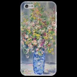 "Чехол для iPhone 5 ""Август"" - красивый, букет, ваза, август, в вазе"