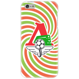 "Чехол для iPhone 5 ""Локомотив"" - локо, футбол, чемпион, спорт, локомотив"