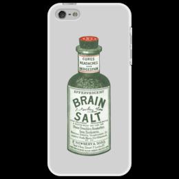 "Чехол для iPhone 5 ""Brain Salt"" - brain salt, средство, remedy"