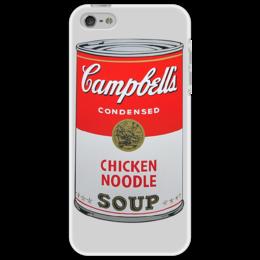 """Чехол для iPhone 5 """"Campbells"""" - энди уорхол, поп-арт, суп"""