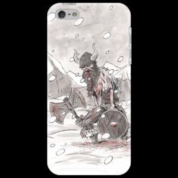 """Чехол для iPhone 5 """"Викинг. После боя."""" - викинг, викинги, vikings, путь воина"""