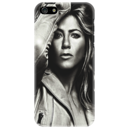 "Чехол для iPhone 5 ""Jennifer Aniston"" - sexy, актриса, actress, jennifer aniston, дженифер энистон"