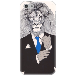 "Чехол для iPhone 5 ""Арт лев"" - арт, в подарок, оригинально, фэшн"