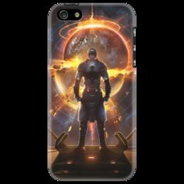 "Чехол для iPhone 5 ""Starpoint Gemini Warlords"" - планета, игра, космос, взрыв, starpoint gemini warlords"