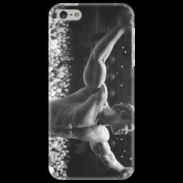 "Чехол для iPhone 5 ""Арнольд Шварценеггер"" - спорт, арнольд, мужской, шварценеггер"
