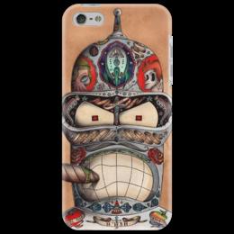 """Чехол для iPhone 5 """"Стильный чехол для вашего телефона! """" - арт, смешное, стиль, прикольные, в подарок, оригинально"""