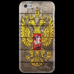 "Чехол для iPhone 5 ""Герб России(Russia) РФ"" - style, russia"