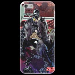 "Чехол для iPhone 5 ""Next morning after"" - batman, бэтмен, superhero, catwoman"
