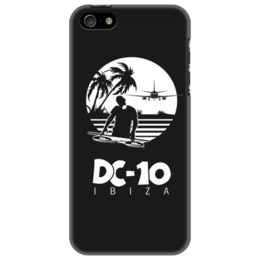 "Чехол для iPhone 5 ""Club DC-10 Ibiza"" - dj, techno, nightclub, dc10, ибица"