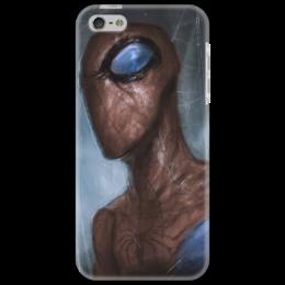 "Чехол для iPhone 5 ""Spider-Man"" - marvel, spider man, superhero, спайдер мен, человек пук"