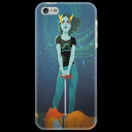 "Чехол для iPhone 5 ""Терези"" - арт, homestuck, terezi, libra"