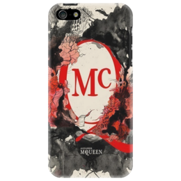 "Чехол для iPhone 5 ""McQueen"" - стиль, мода, дизайнер, mcqueen, fashion, маккуин"
