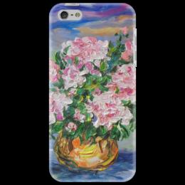 """Чехол для iPhone 5 """"Пионы"""" - лето, счастье, красота, май, пиончики"""