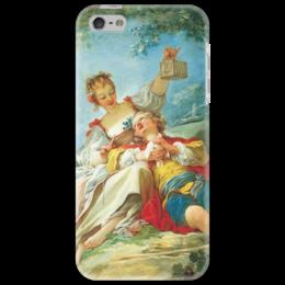 "Чехол для iPhone 5 ""Счастливые любовники"" - картина, фрагонар"