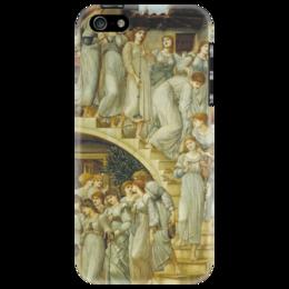 "Чехол для iPhone 5 ""Золотая лестница (The Golden Stairs)"" - картина, бёрн-джонс"