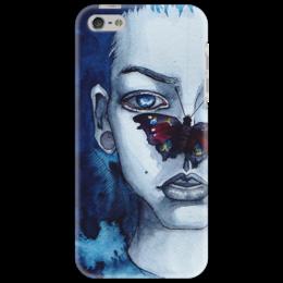 """Чехол для iPhone 5 """"butterfly"""" - арт, рисунок, оригинально, креативно, arishap"""