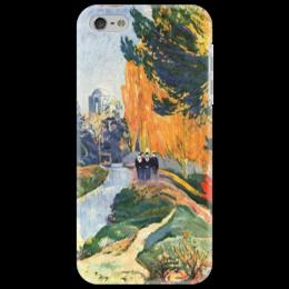 "Чехол для iPhone 5 ""Алискамп"" - картина, поль гоген"