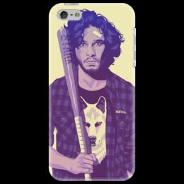 "Чехол для iPhone 5 """"Игра престолов"""" - арт, игра престолов, game of thrones, jon snow, джон сноу"