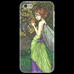 "Чехол для iPhone 5 ""Титания, Королева Фей"" - арт, девушка, рисунок, fairy"