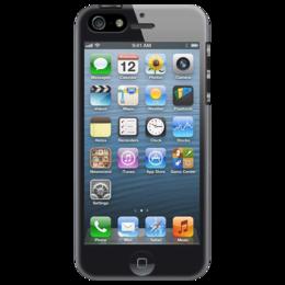 """Чехол для iPhone 5 """"iPhone"""" - iphone, прикольные"""