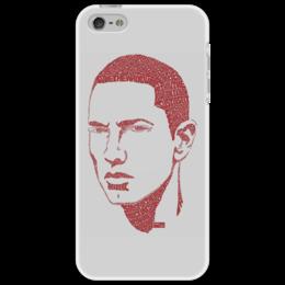 """Чехол для iPhone 5 """"Eminem"""" - арт, hip hop, eminem, pixel art, эминем"""