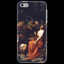"Чехол для iPhone 5 ""Поругание Христа (Картина Кабанеля)"" - картина, кабанель"