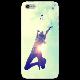 """Чехол для iPhone 5 """"Summer"""" - девушка, лето, развлечения, солнце, радость, summer, fun"""