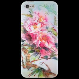 "Чехол для iPhone 5 ""Китайский пион."" - flowers, пионы, peony, китайский пион"