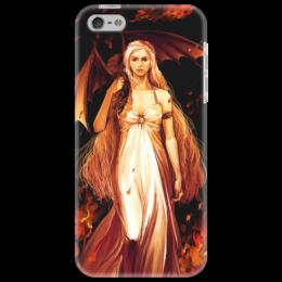 """Чехол для iPhone 5 """"""""Мать драконов"""""""" - игра престолов, game of thrones, мать драконов, кхалиси"""