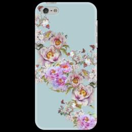 "Чехол для iPhone 5 ""Цветочная фантазия."" - цветы, flowers, фантазия, живопись, цветочное"