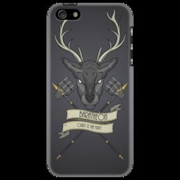 """Чехол для iPhone 5 """"Игра престолов """" - сериалы, модное, got, игра престолов, game of thrones, баратеоны, baratheon"""