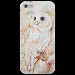 """Чехол для iPhone 5 """"Совенок"""" - арт, красиво, в подарок, оригинально, девушке, сова, мило"""