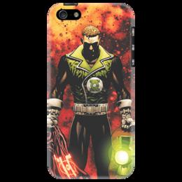"""Чехол для iPhone 5 """"Зеленый фонарь"""" - комикс, комиксы, зеленый, зеленый фонарь, фонарь, green lantern"""