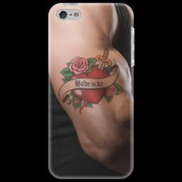 """Чехол для iPhone 5 """"Надежда"""" - 14 февраля, для девочек, надежда, надя, наденька"""