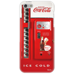"Чехол для iPhone 5 ""American Coca Cola Machine"" - выделись из толпы, vintage, shapdesign, coke"