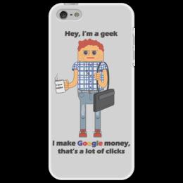 """Чехол для iPhone 5 """"Программист                             """" - it, программист"""