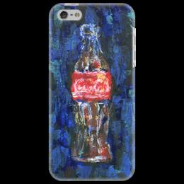 """Чехол для iPhone 5 """"Coca-Cola"""" - арт, кока-кола, coke, american classic, soda"""
