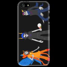 "Чехол для iPhone 5 ""Homestuck troll"" - арт, homestuck, gamzee, eridan, vriska"