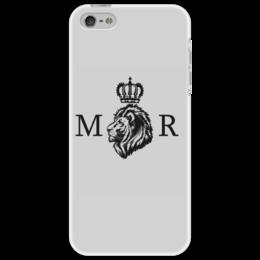 "Чехол для iPhone 5 "" MOR "" - лев, lion, leo, животные, animals"