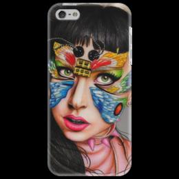 "Чехол для iPhone 5 ""Lady Gaga"" - арт, рисунок, gaga, оригинально, lady gaga, леди гага, born this way"