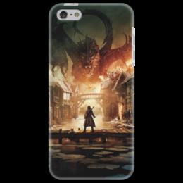 """Чехол для iPhone 5 """"Хоббит"""" - дракон, кино, властелин колец, hobbit, фродо"""