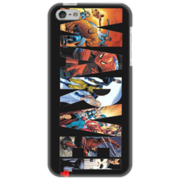 "Чехол для iPhone 5 ""Marvel"" - comics, комиксы, marvel"
